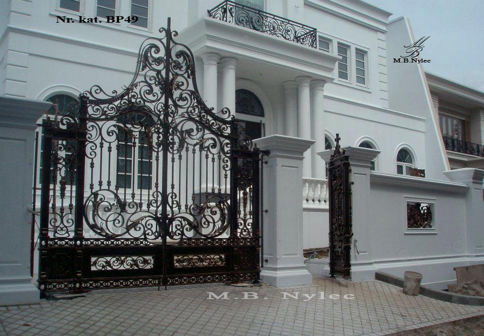 Brama barokowa do rezydencji bp49